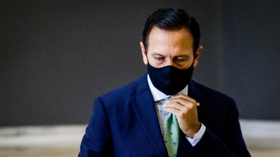 O governador de São Paulo, João Doria, pede o fim das atividades no aeroporto Campo de Marte - ALOISIO MAURICIO/ ESTADÃO CONTEÚDO
