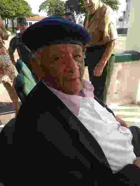 Ex-combatente da Segunda Guerra Mundial, o segundo tenente Raymundo Barbosa Ramos, de 99 anos, morreu vítima da covid-19 - Arquivo Pessoal