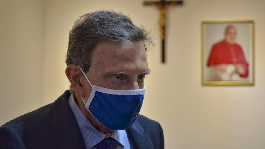 Marcelo Crivella (Republicanos) está em prisão domiciliar após investigações sobre esquema de propina enquanto era prefeito do Rio - RAMON VELLASCO/FUTURA PRESS/ESTADÃO CONTEÚDO