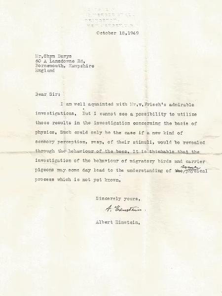 Carta perdida de Albert Einstein - Universidade Hebraica de Jerusalém