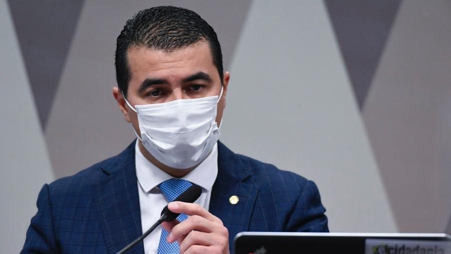 O deputado federal Luis Miranda (DEM-DF) prestou depoimento à PF no inquérito que apura se presidente Jair Bolsonaro (sem partido) prevaricou - Jefferson Rudy/Agência Senado