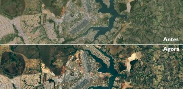 Mais nitidez nas imagens permite observar diferenças no crescimento dos bairros planejados e não planejados de Brasília
