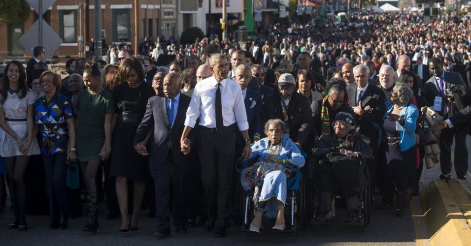 Barack Obama em Selma (EUA)