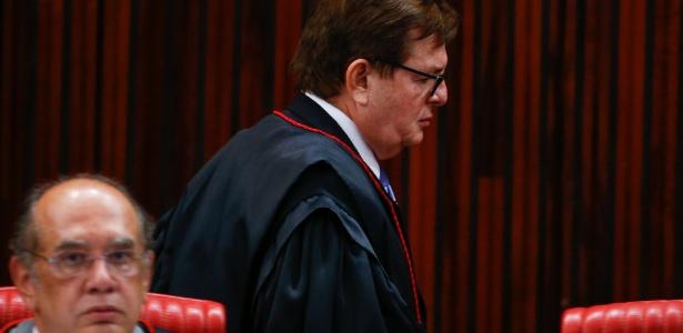 """O ministro Herman Benjamin, que usou a expressão """"caixa 3"""" no julgamento"""