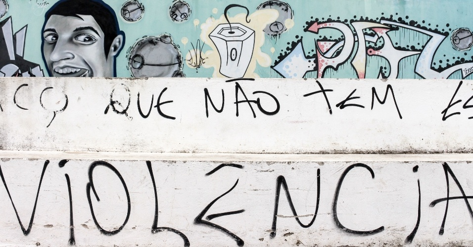 Grafite em Mata de São João (BA)