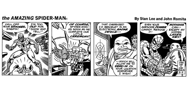 HQ Homem-Aranha - Reprodução/Stan Lee/John Romita - Reprodução/Stan Lee/John Romita