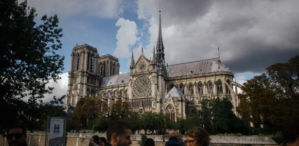 A catedral de Notre-Dame em Paris