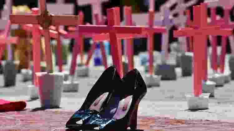 Nove mulheres são assassinadas por dia no México - AFP