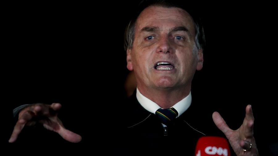 Bolsonaro disse que o governo está preocupado em acelerar a privatização de empresas estatais - Gabriela Biló/Estadão Conteúdo