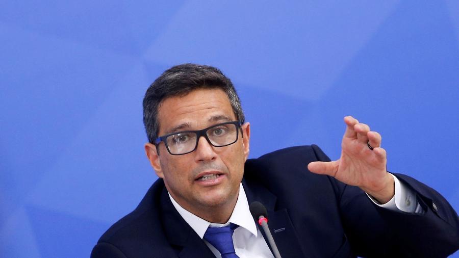 Presidente do Banco Central, Roberto Campos Neto - ADRIANO MACHADO