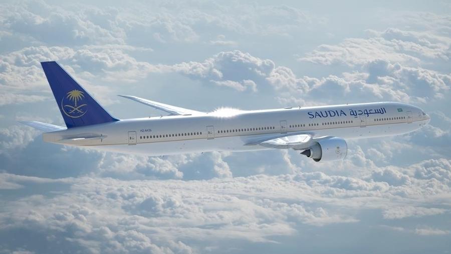 Saudia Airlines fez voo entre Jeddah, na Arábia Saudita, e Brasília - Divulgação