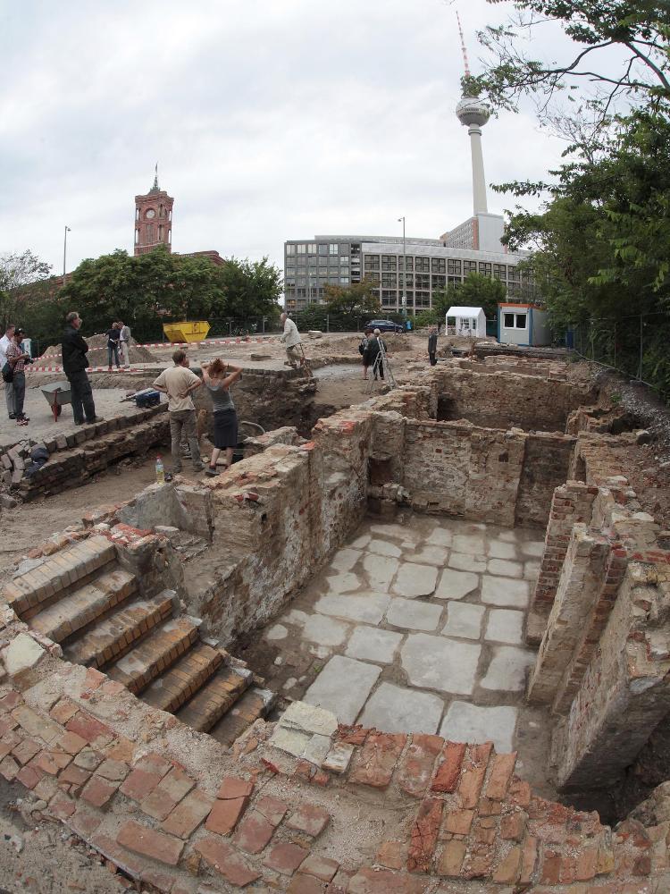Berlim faz a maior escavação arqueológica urbana da Europa