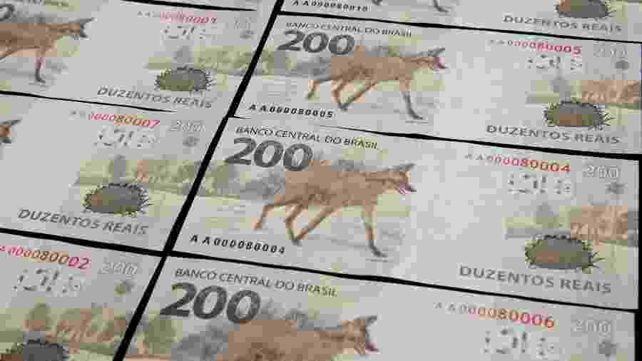 Estima-se que os investigados tenham produzido, até agora, mais de R$ 10 milhões em notas falsas - Divulgação/Banco Central