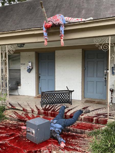 Steven é um artista da cidade de Dallas que neste ano está levando a festividade muito a sério - Facebook/Steven Novak
