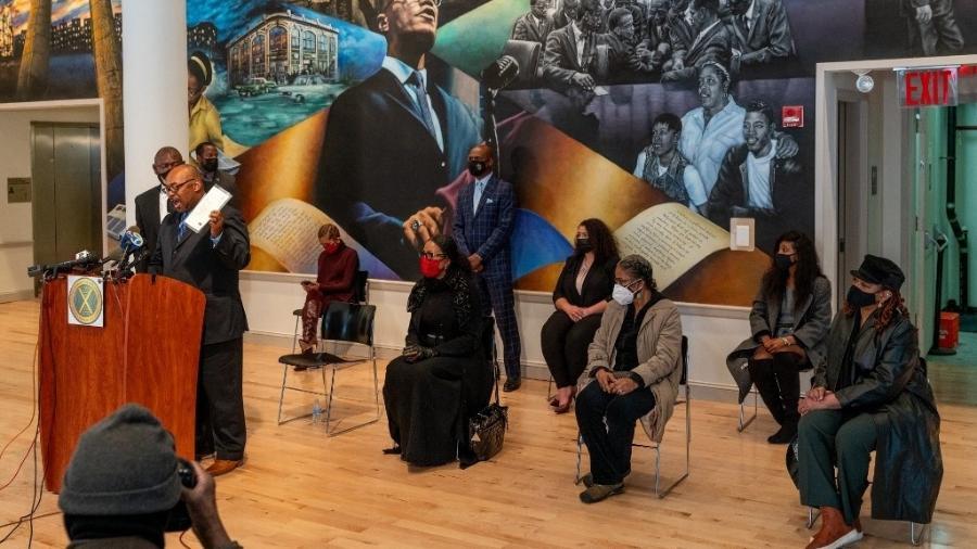 Novas evidências sobre a morte de Malcolm X foram mostradas em entrevista coletiva sobre o caso - David Dee Delgado / GETTY IMAGES NORTH AMERICA / AFP