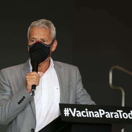 Gabbardo, coordenador-executivo do Centro de Contingência do Coronavírus em SP - Divulgação/Governo Estadual