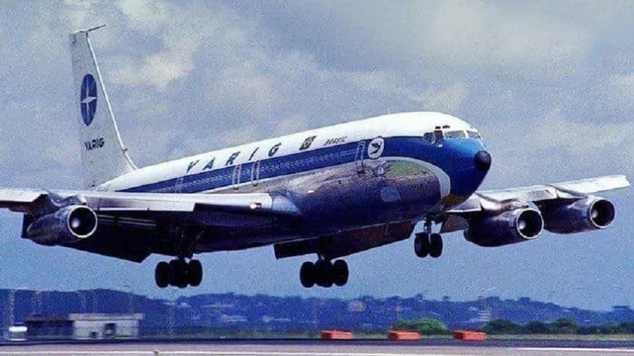 Boeing 707, prefixo PP-VJX, foi sequestrado três vezes em apenas quatro meses - Reprodução