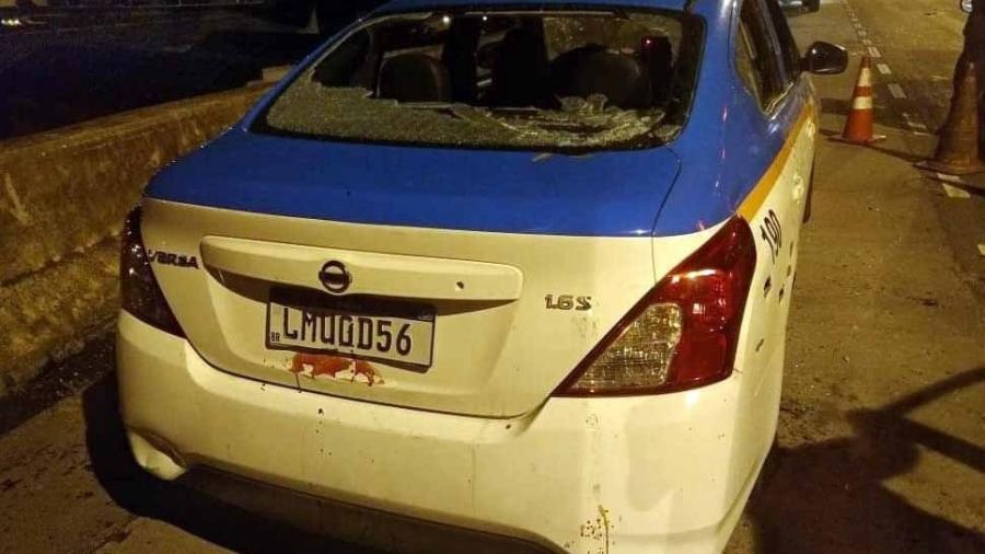 Rio: Viatura da PM é metralhada na Linha Vermelha e um policial é morto - Reprodução