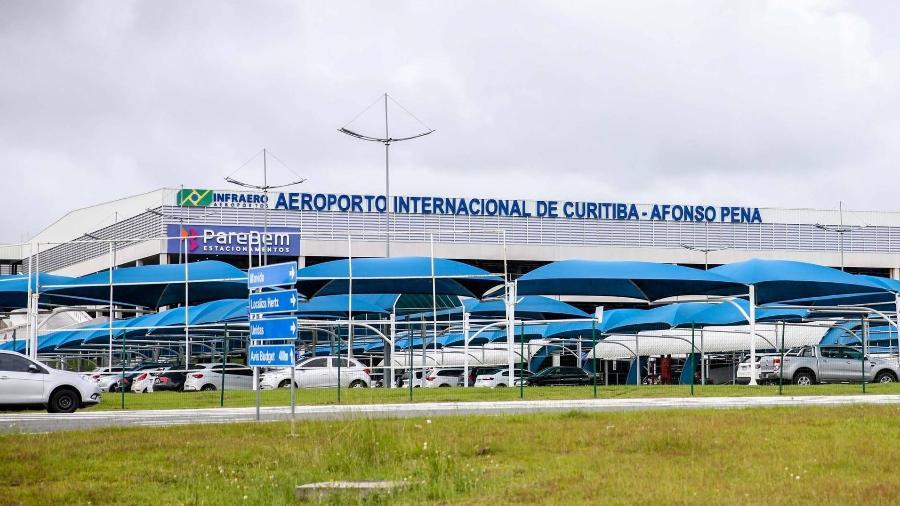 Aeroporto Afonso Pena, em São José dos Pinhas (PR) - Divulgação/Governo do Paraná