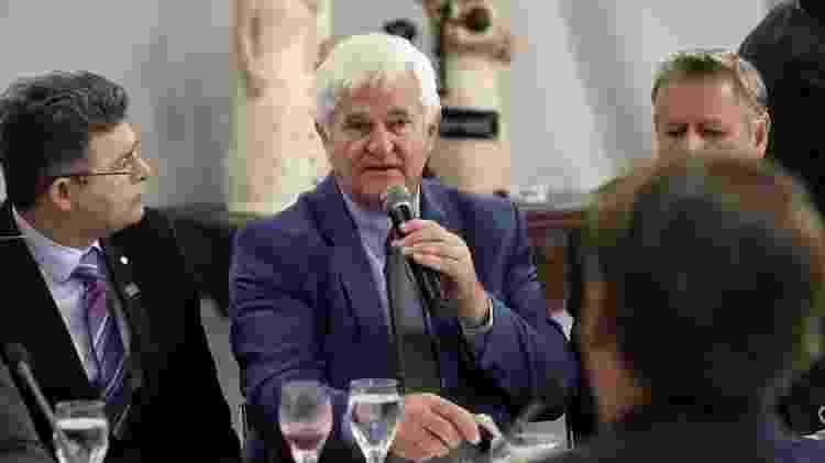 Antônio Galvan em reunião com Jair Bolsonaro e bancada do Mato Grosso, no Palácio do Planalto - Marcos Corrêa/PR - Marcos Corrêa/PR
