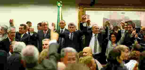 Desembarque do PMDB - Pedro Ladeira/Folhapress - Pedro Ladeira/Folhapress