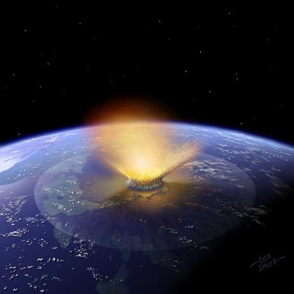 Possível impacto de asteroide na Terra