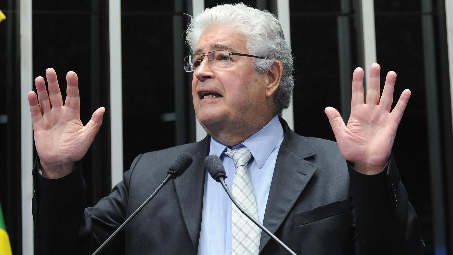 Roberto Requião, em foto quando era senador pelo PMDB-PR - Geraldo Magela/Agência Senado