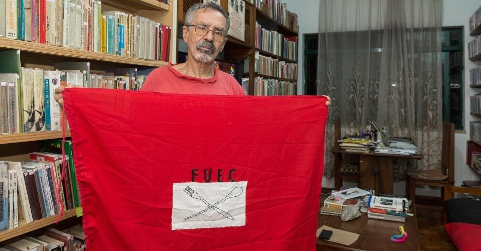 Geraldo Sardinha integrou a Frente Unida dos Estudantes do Calabouço, o restaurante dos estudantes, em 1968