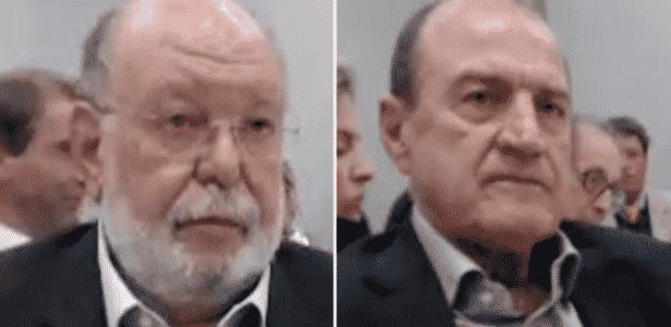 Léo Pinheiro (esquerda) e Agenor Medeiros, ex-executivos da OAS - Arte/UOL