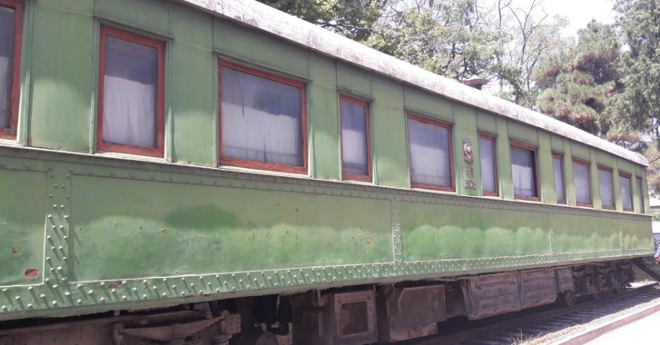 Trem usado por Stalin durante a Segunda Guerra Mundial