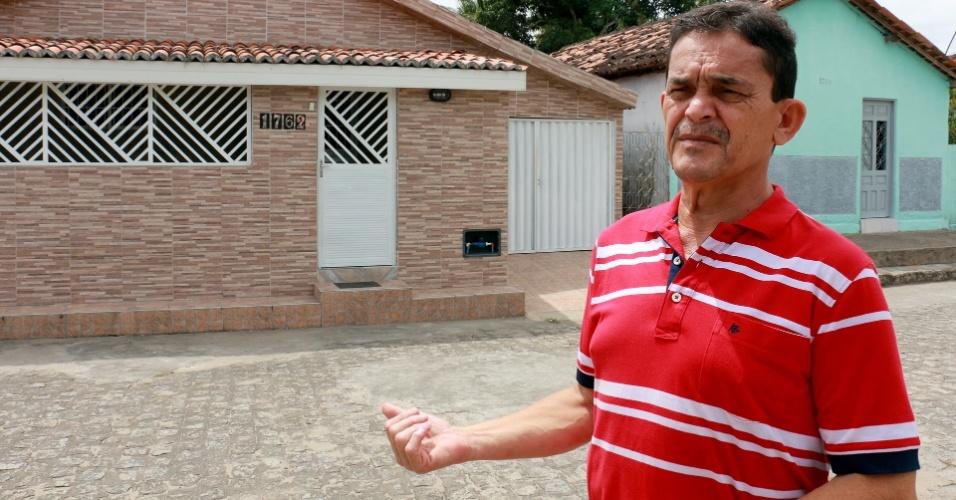 1º.dez.2017 - Josiberto Primo, vice-presidente da Associação de Moradores de Rio Tinto, diz que algumas pessoas passaram a divergir dos pagamentos e foram ganhando apoiadores