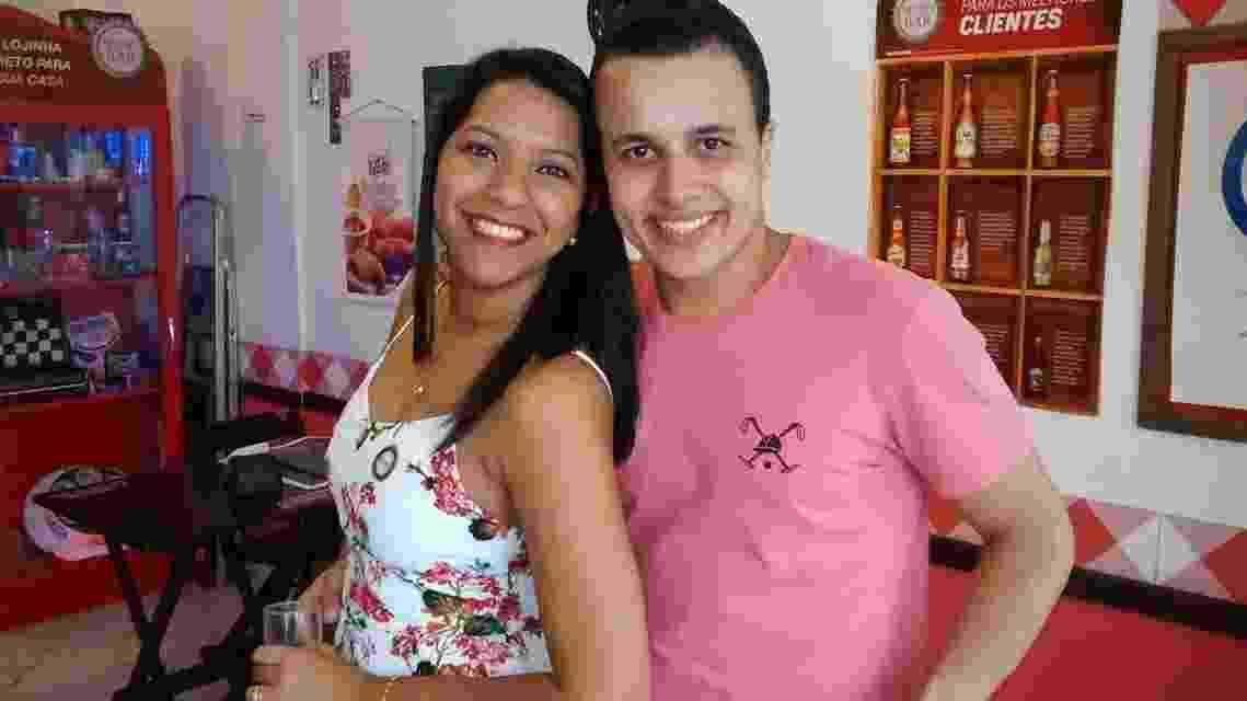 Marcelle Riesco do Nascimento e Rodrigo Melo Matos - Arquivo pessoal