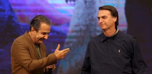 Visita de Bolsonaro à Assembleia de Deus Vitória em Cristo, na Penha - WILTON JUNIOR/ESTADÃO CONTEÚDO