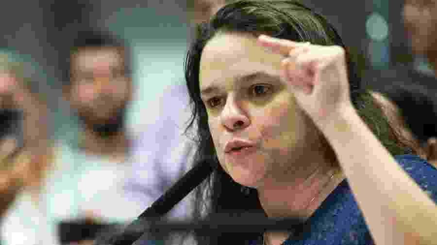 Deputada Estadual eleita pelo PSL, a advogada Janaina Paschoal costurou apoio com base do governo para aprovar projeto sobre lei da cesárea - BRUNO ROCHA/FOTOARENA/FOTOARENA/ESTADÃO CONTEÚDO