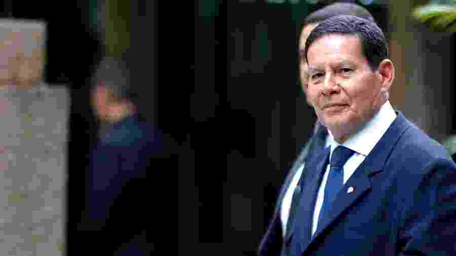 O vice-presidente da República, General Hamilton Mourão - Marcelo Chello/CJPress/Folhapress