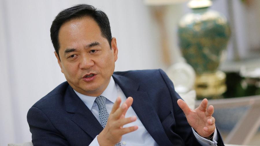 Yang Wanming, embaixador da China no Brasil - Adriano Machado/Reuters