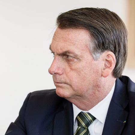 Presidente da República, Jair Bolsonaro durante reunião da Comissão de Ética Pública - Isac Nóbrega/PR