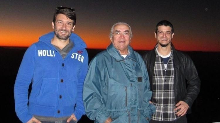 Pesquisadores Izan de Castro (esq.), José Renan de Medeiros (centro) e Bruno Leonardo Canto Martins, do Departamento de Física da UFRN - Divulgação