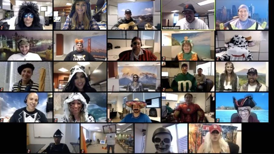 Plataforma de videoconferência virou febre em meio ao distanciamento social - Divulgação