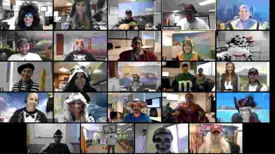 Videoconferência no Zoom - Divulgação