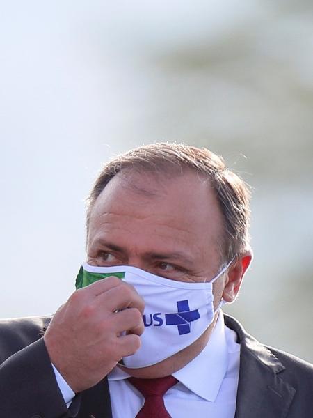 Ministro da Saúde, general Eduardo Pazuello, alegou problemas de saúde e pediu para deixar o cargo - ADRIANO MACHADO
