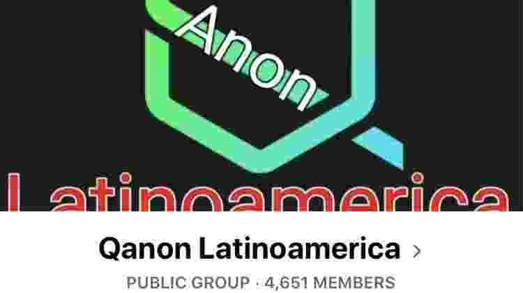 O lema do QAnon - BBC - BBC