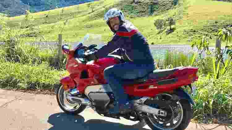 Diego Yamaha GTS - Arquivo pessoal  - Arquivo pessoal