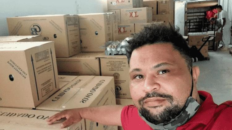 vendedor de ovos - Arquivo pessoal - Arquivo pessoal