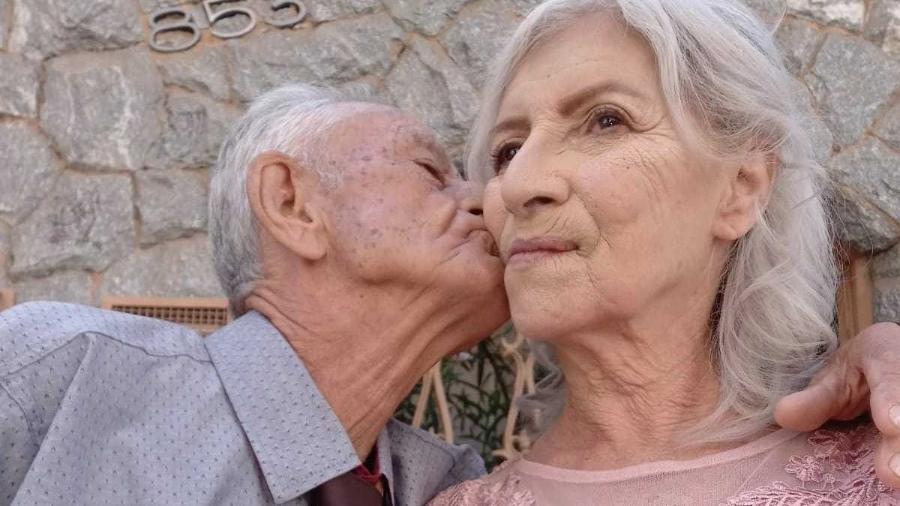 """Idosos casam após os 70, em MG e ensinam: """"O amor não tem tempo, nem idade"""" - Arquivo pessoal"""