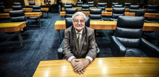 Gilberto Natalini (PV), vereador e ex-secretário do Verde e do Meio Ambiente
