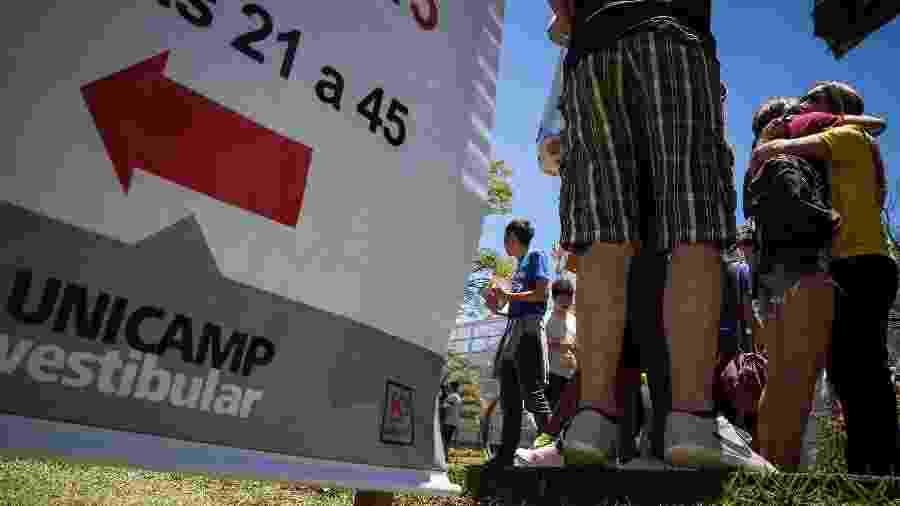 Unicamp segue fechada para aulas presenciais - Luciano Claudino/Código19/Estadão Conteúdo