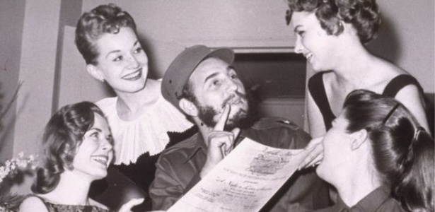 Líder cubano sempre teve fama de mulherengo