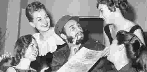 Líder cubano sempre teve fama de mulherengo  - Getty Images