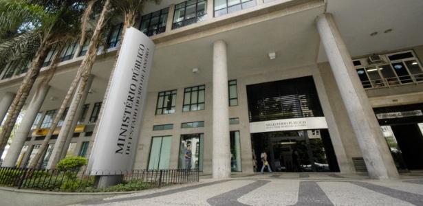 Fachada do edifício-sede do MP-RJ (Ministério Público do Estado do Rio de Janeiro)